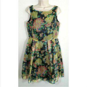 J. TAYLOR Sleeveless Fit & Flare Dress 1611E1M